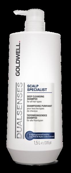 DUALSENSES Scalp Specialist Deep Cleansing Shampoo, 1 L
