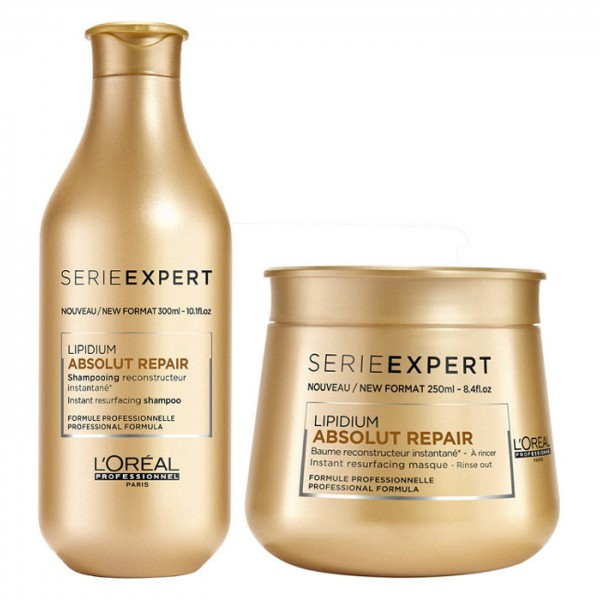 Linie Professionell Serie Expert ABSOLUTE REPAIR SHAMPOO 300ML