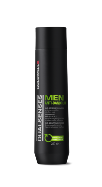 DUALSENSES Men Anti Dandruff Shampoo, 300 ml