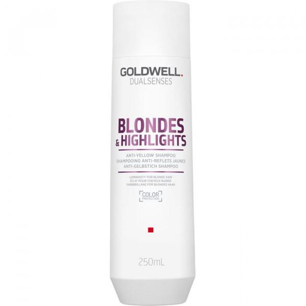 DUALSENSES Blond & Highlights Anti-Yellow Shampoo, 1 L