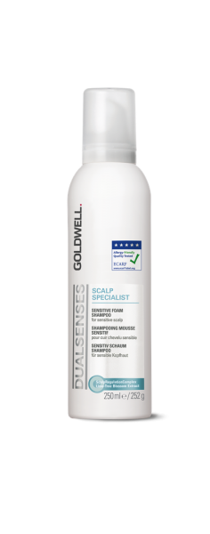 DUALSENSES Scalp Specialist Sensitive Foam Shampoo, 250 ml