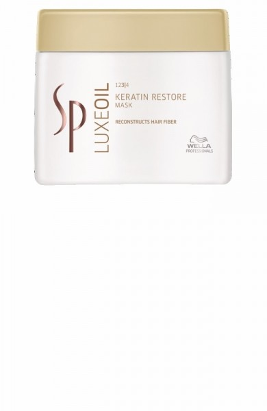 SP LUXEOIL KERATIN RESTORE MASK 400ML